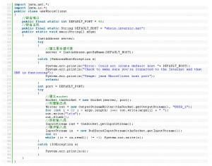 Java网络编程:实现Whois 服务的客户端